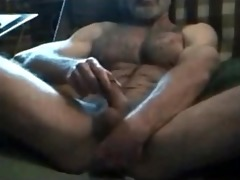 brawny bushy lustful str8 daddy! hot verbal