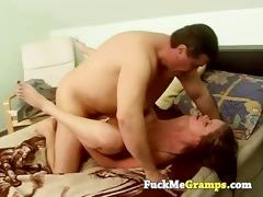 old man has youthful girlfriend
