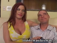 hubby explains watching wife get screwed