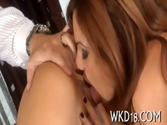 guy receives dick sucked well