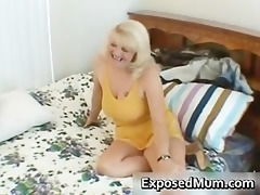 wicked mamma shows her juggs and sucks cock part4