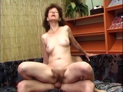 very hairy pussy seduces a chap