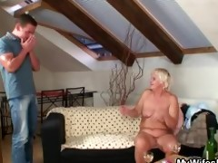 old bag gets gangbanged by son in law