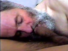 dad bear blows and swallows