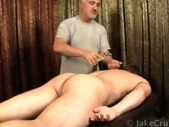 straight massaged and surprised