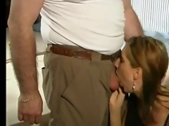 big titted beauty takes older boys cock in cookie