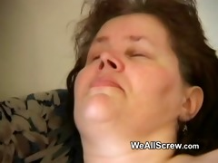 younger chap dildos old womans ass and copulates