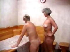 mother and aunt entice youthful guy