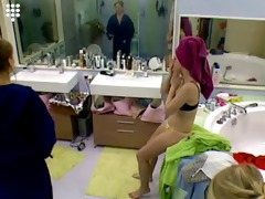 large brother nl sexy blond teen beauty in string