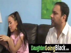 watch how my daughter is fucked by a darksome
