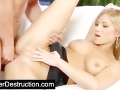 youthful angel pounded hard by big cock