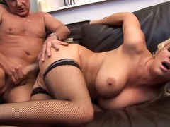 sugar daddy fucks girl hard