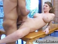 pretty knockers mother plays with coon part1