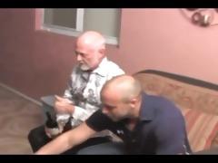 muscle dad fucks older man
