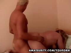 chunky non-professional mature wife fucked by a