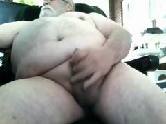 santa bear chub grandpa mastubates